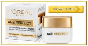Prova-Gratis-la-Crema-ReIdratante-LOreal-Age-Perfect