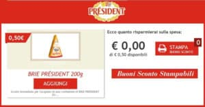 Buono-Sconto-formaggi-President-gratis