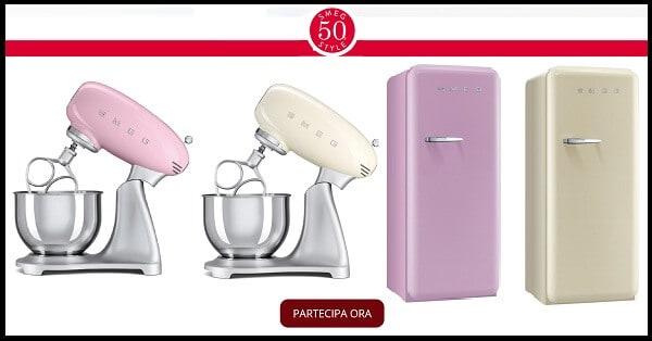 Concorso-a-Premi-GialloZafferano-vinci-gratis-frigorifero-o-impastatrice-SMEG