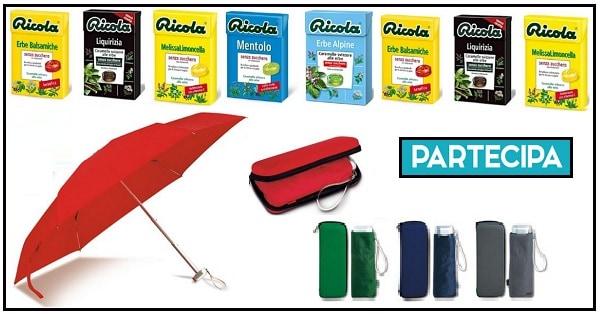 Ricola-Herb-Runner-vinci-gratis-ombrello-tascabile-e-pacchetti-di-caramelle