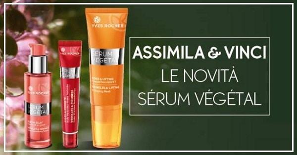 Vinci-gratis-cosmetici-Yves-Rocher-Sérum-Végétal