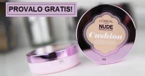 Diventa-tester-del-fondotinta-Nude-Magic-Cushion-di-LOreal-gratis
