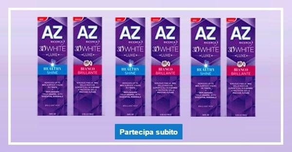 Prova-gratis-il-nuovo-dentifricio-AZ-3D-White-Luxe