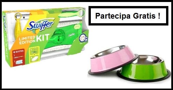 Vinci-ciotola-e-kit-Swiffer-Limited-Edition-gratis