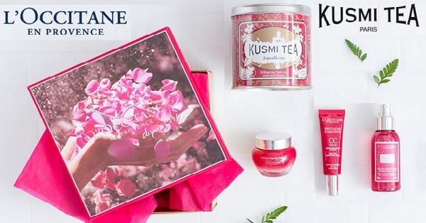 Vinci-un-cofanetto-LOccitane-x-Kusmi-Tea-gratis