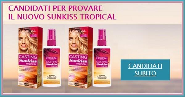 Prova-gratis-il-LOreal-Casting-Sunkiss-Tropical