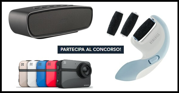 Vinci-weekend-per-2-action-camera-speaker-o-Homedics
