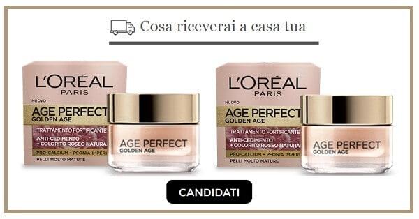 Prova-gratis-il-trattamento-viso-Perfect-Golden-Age-di-LOreal