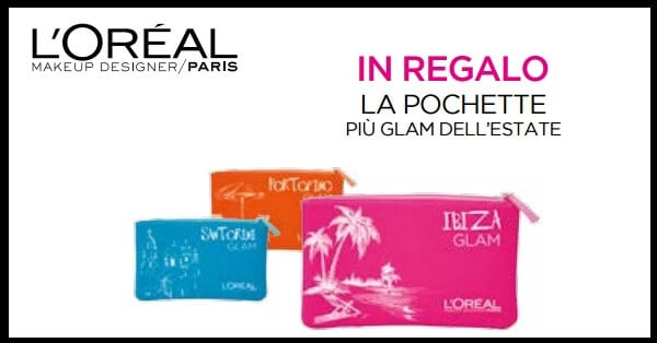 Pochette-Glam-LOreal-Paris-in-regalo