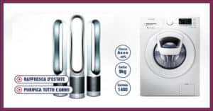 Vinci-gratis-lavatrice-Samsung-o-ventilatore-Dyson