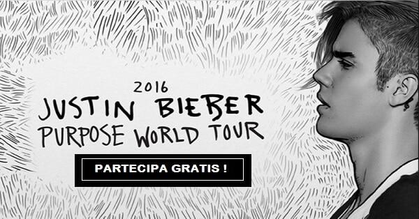 Vinci-concerto-di-Justin-Bieber