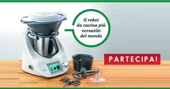 gratis un robot Bimby TM5 con accessori