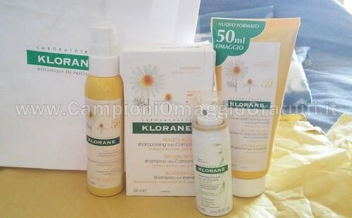 kit-di-prodotti-Klorane-ricevuto-gratis