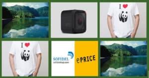 Vinci-t-shirt-ePrice-GoPro-viaggio-WWF-Nature