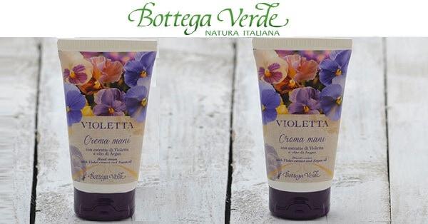 Crema-mani-Violetta-di-Bottega-Verde-in-regalo
