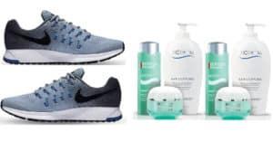 Vinci-gratis-2-paia-di-scarpe-Nike-e-3-prodotti-Biotherm