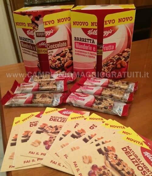 barrette-mandorle-e-cioccolato-frutta-Kelloggs-da-testare-gratis
