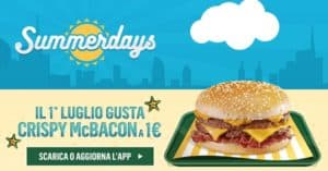 concorso-mcDonalds-summerDays-vinci-viaggi-iPhone-7-o-fiat-500