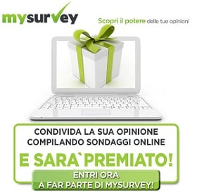 Iscrizione MySurvey