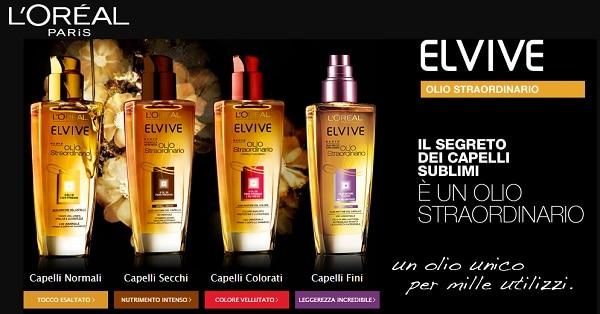 campioni-omaggio-Olio-Straordinario-LOréal-Elvive