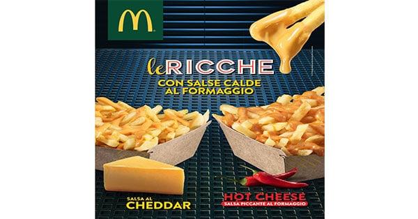McDonald's Patatine Le Ricche Doppio Formato