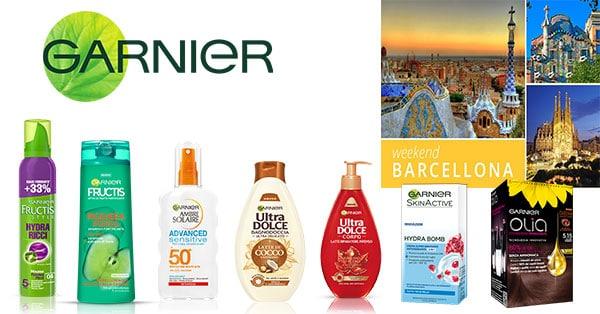 Concorso Garnier Prova a Vincere un Weekend a Barcellona