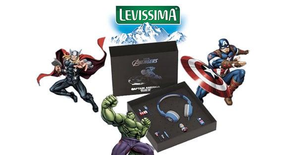 Concorso Levissima Vinci Kit Super Eroi Marvel Avengers