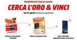 Concorso Mediaworld Cerca Oro & Vinci