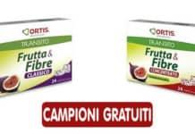 Campioni gratuiti Frutta & Fibre Classico o Concentrato