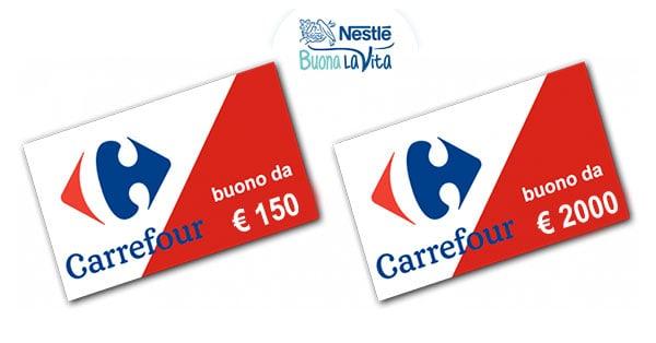 Premi Concorso Nestlé La spesa di qualità ti premia
