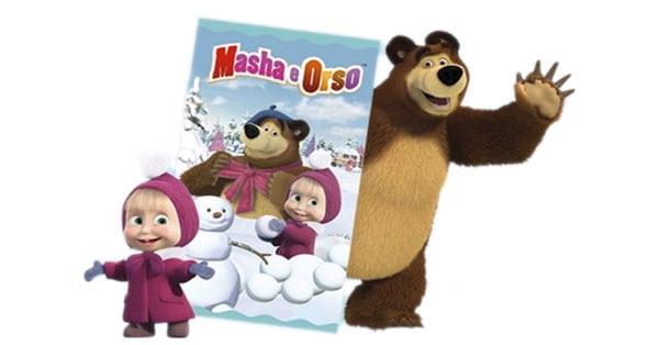 Concorso Narhinel ti regala la morbida coperta Masha e Orso