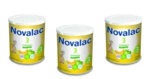 latte Novalac 3 mela e banana