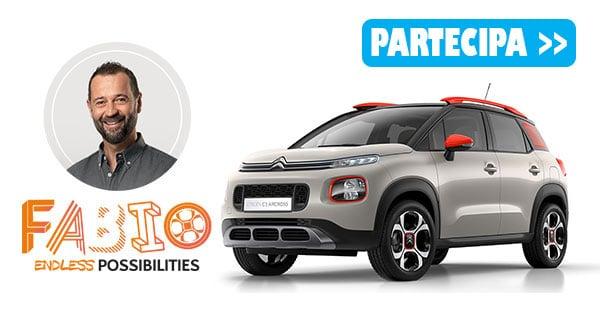 Concorso Citroën endless Fabio