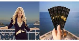 Concorso Con Costa vinci il concerto di Shakira