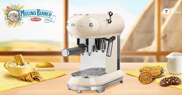 Concorso Con Mulino Bianco vinci la macchina da caffè espresso Smeg
