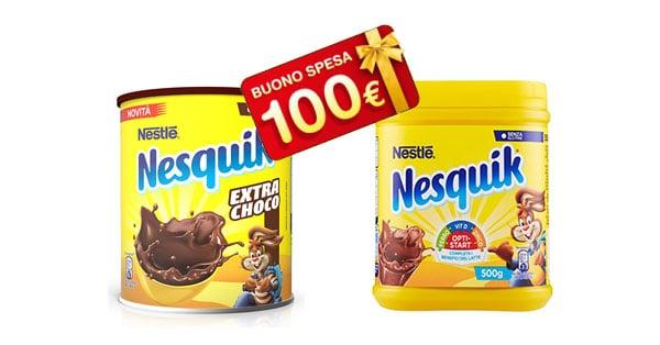 Concorso Nesquik con Auchan, Simply, Ipersimply e Punto Simply