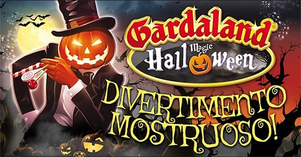 Concorso RTL 102.5 Vinci gratis 2 biglietti per Gardaland Halloween Party