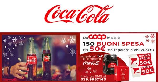 Concorso Vinci e fai un regalo con Coca-Cola e Coop