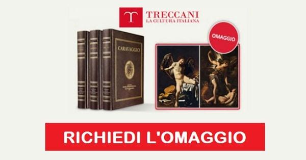 riproduzione di Caravaggio in Omaggio da Treccani