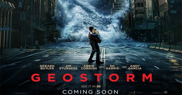 Vinci 2 biglietti cinema per il film Geostorm