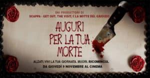 Vinci biglietti cinema per il film Auguri per la tua morte