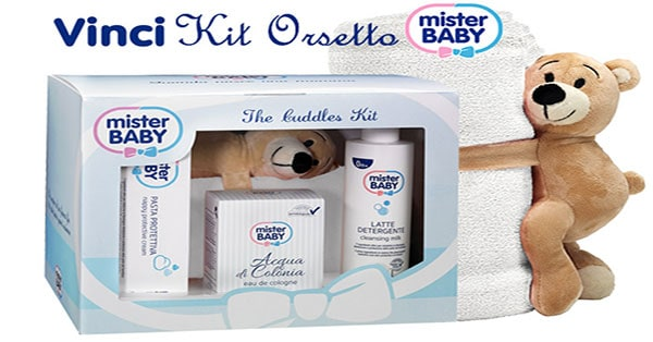 kit Orsetto Mister Baby