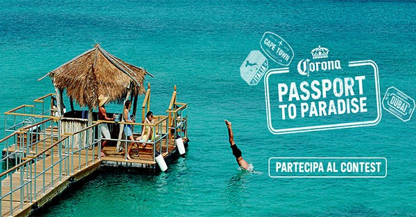 Concorso Corona Passport to Paradise