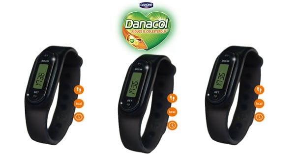 Concorso Danacol ti regala la Fitband Oregon Scientific