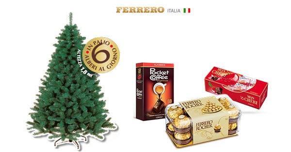 Concorso Ferrero Con Bennet puoi vincere un albero di Natale