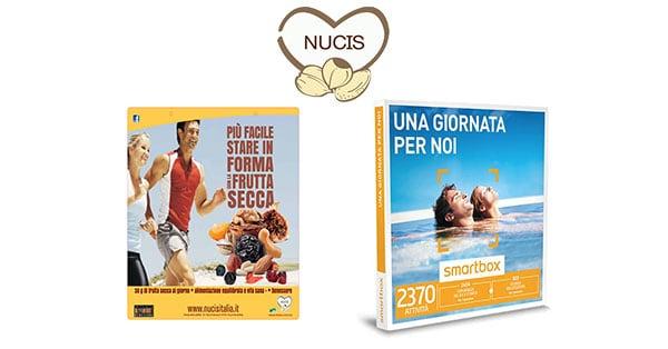 Concorso Nucis Top 30 g Trova lo snack del benessere