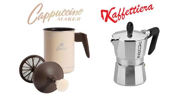 Concorso Pedrini Giveaway cappuccino o caffè