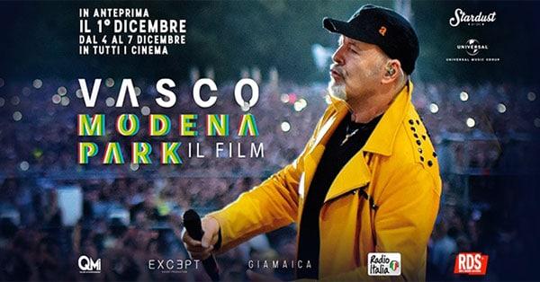 biglietti cinema omaggio per Vasco Modena Park - Il film