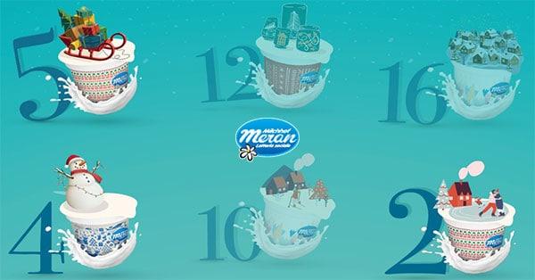 Calendario dell'Avvento Latte Merano
