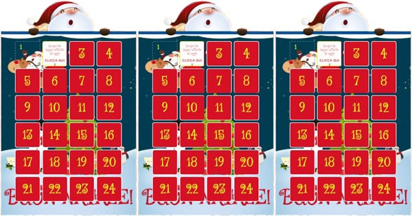 Calendario dell'Avvento Toys Center